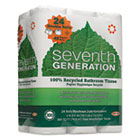 100% Recycled Bathroom Tissue, Two-Ply, White, 500 Sheets/Roll, 24 Rolls/Pack SEV13738