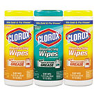 Clorox Disinfecting Wipes, 7 x 8, Fresh Scent/Citrus Blend, 35/Canister, 3/Pack CLO30112