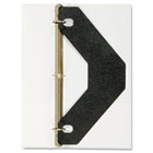 Triangle Shaped Sheet Lifter for Three-Ring Binder, Black, 2/Pack AVE75225