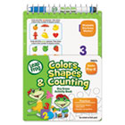 LeapFrog Mini Dry Erase Book, Colors, Shapes, Counting, Grades K-1, 8 Pages BDU19452UA24