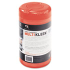 Office Equipment MultiKleen Wet Wipes, Cloth, 3 1/4 x 3 1/4, 75/Tub REARR1407