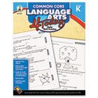 Common Core 4 Today Workbook, Language Arts, Kindergarten, 96 pages CDP104595