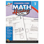 Common Core 4 Today Workbook, Math, Grade 2, 96 pages CDP104591