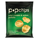 Potato Chips, Sour Cream and Onion Flavor, .8 oz Bag, 72/Carton PPH70070