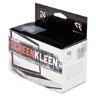 Notebook ScreenKleen Pads, Cloth, 5 x 4 3/8, White, 24/Box REARR1217