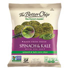 Corn Chips, Spinach & Kale with Sea Salt, 2oz Bag, 18/Box OFX55912