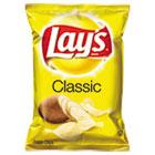 Regular Potato Chips, 1.5 oz Bag, 64/Carton LAY44459