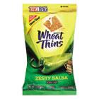 Wheat Thins Crackers, Zesty Salsa, 2.5oz Bag, 12/Carton CDB03240