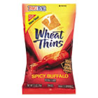 Wheat Thins Crackers, Spicy Buffalo, 2.5oz Bag, 12/Carton CDB03239