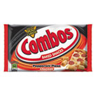 Combos Baked Snacks, 6.3 oz Bag, Pepperoni Pizza Cracker, 12/Carton CBO42008