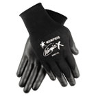 Ninja x Bi-Polymer Coated Gloves, Small, Black, Pair CRWN9674S