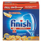 FINISH® Dish Detergent Gelpacs, Orange Scent, Box of 32 Gelpacs RAC81053