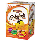 Goldfish Crackers, Baked Cheddar, 58 oz Resealable Bag in Box PPF827562