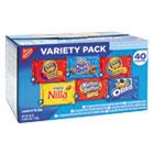 Mini Snack Packs, 1 oz, Variety Pack, 40 per Carton NFG827558