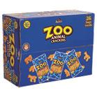 Zoo Animal Crackers, Original, 2 oz Pack, 36 Packs/Box KEB827545
