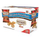 Mini Pretzels, Original, 0.9 oz Bags, 60/Carton SNY827582