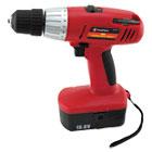 "Great Neck 18 Volt 2 Speed Cordless Drill, 3/8"" Keyless Chuck GNS80167"