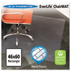 46x60 Rectangle Chair Mat, Multi-Task Series for Hard Floors, Heavier Use ESR132321