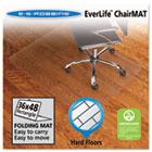 Foldable 36x48 Rectangle Chair Mat, Task Series for Hard Floors ESR130082