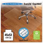45x53 Lip Chair Mat, Economy Series for Hard Floors ESR131823