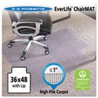 "36x48 Lip Chair Mat, Performance Series AnchorBar for Carpet up to 1"" ESR124054"