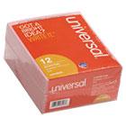 """""""Important Message"""" Pink Pads, 4-1/4 x 5-1/2, 50/Pad, 1/Dozen UNV48023"""