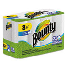 Bounty Select-A-Size Kitchen Roll Paper Towels, 2 Ply, 6 x 11 in, White, 70 sht/rl, 8 rl/pk PGC88187