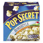 Microwave Popcorn, Homestyle, 3.5 oz Bags, 10/CT DFD28781