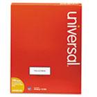 Laser Printer Permanent Labels, 1 x 2-5/8, White, 3000/Box UNV80102