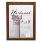 Solid Oak Hardwood Frame, 8-1/2 x 11, Walnut Finish NUD15815