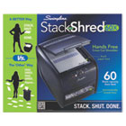 Stack-and-Shred 60X Hands Free Shredder, Cross-Cut, 60 Sheets, 1 User SWI1757572