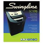 SC170 Strip-Cut Shredder, 12 Sheets, 1 User SWI1757250