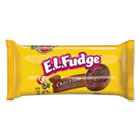 Mini Cookie Snack Pack, 3.4 oz, Chocolate Cookie w/Fudge Cream, 8/Pk, 8 Pk/Box KEB91308