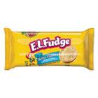 Mini Cookie Snack Pack, 3.4 oz, Butter Cookie w/Fudge Cream, 8/Pack, 8 Pk/Box KEB91306