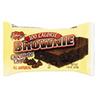 All Natural Brownies, Chocolate Chip, 1.45 oz, 12 per Box GLN07317