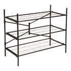 Instant Storage Shelving Unit, 3 Shelves, 42 3/4 x 20 3/4 x 35 3/4, Black CSC66713BLK1E