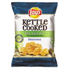 Kettle Cooked Original Chips, 1.375 oz Bag, 64/Carton LAY25115