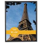 Glossy Black Poster Frame, 18 x 24 UNV76870