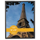 Glossy Black Poster Frame, 16 x 20 UNV76869