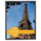 Glossy Black Poster Frame, 24 x 36 UNV76871