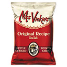 Kettle Cooked Sea Salt Potato Chips, 1.375 oz Bag, 64/Carton LAY44443