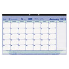 Monthly Desk Pad Calendar, 17-3/4 x 10-7/8, 2016 REDC181700