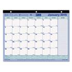Monthly Desk Pad Calendar, 11 x 8-1/2, 2015 REDC181721