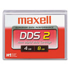 "1/8"" DDS-2 Cartridge, 120m, 4GB Native/8GB Compressed Capacity MAX200110"