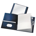ReportPro 10-Pocket Project Organizer, Letter, Assorted CRD13600