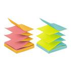 Pop-up Refill, 4 Alternating Capetown Colors, 3 x 3, 100/Pad, 12 Pads/Pack MMMR330NALT
