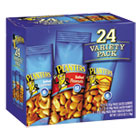 Variety Pack Peanuts & Cashews, 1.75 oz/1.5 oz Bag, 24/Box PTN884624