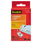 ID Badge Size Thermal Laminating Pouches, 5 mil, 4 1/4 x 2 1/5, 100/Pack MMMTP5852100