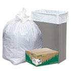 Recycled Tall Kitchen Bags, 13-16gal, .8mil, 24 x 33, White, 150 Bags/Box WBIRNW1K150V