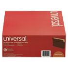 1 3/4 Inch Expanding File Pockets, Straight Tab, Letter, Redrope/Manila, 25/Box UNV15141